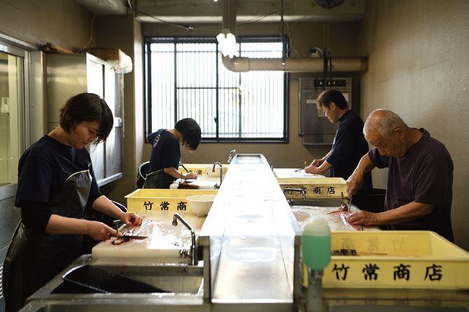 浜松市の鰻白焼き販売と卸問屋 有限会社竹常ワークフロー スライド4