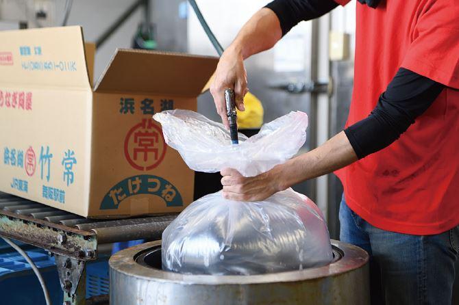 浜松市の鰻白焼き販売と卸問屋 有限会社竹常ワークフロー スライド5